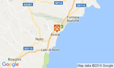 Mapa Avola Vivenda 75699