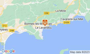 Mapa Le Lavandou Apartamentos 107760