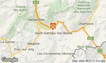 Mapa Saint Gervais Mont-Blanc Chal� 2549