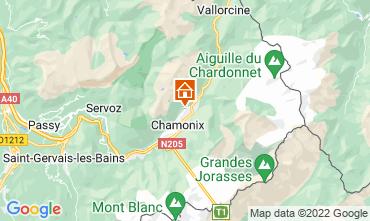 Mapa Chamonix Mont-Blanc Chalé 88059
