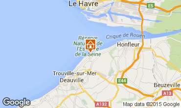 Mapa Deauville Apartamentos 67305