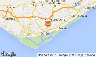 Mapa Olhão Apartamentos 21809