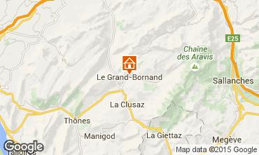 Mapa Le Grand Bornand Estúdio 42969