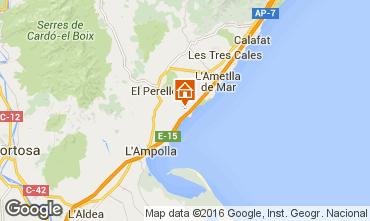 Mapa La Ametlla de Mar Casa 102939