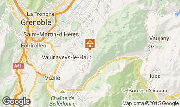 Mapa Chamrousse Chalé 88811