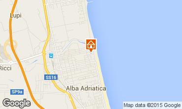 Mapa Alba Adriatica Apartamentos 93590