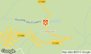 Mapa La Rosi�re 1850 Apartamentos 99578