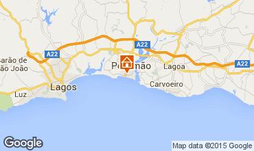 Mapa Praia da Rocha Apartamentos 84924