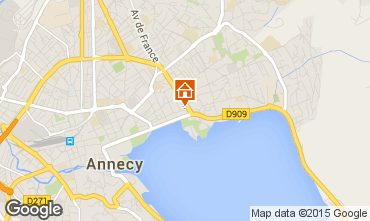 Mapa Annecy Apartamentos 94359