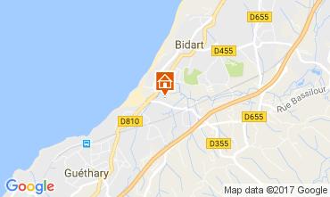 Mapa Bidart Apartamentos 108407