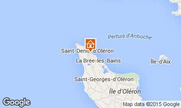 Mapa Saint Denis d'Oléron Vivenda 80154