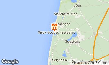 Mapa Vieux Boucau Apartamentos 85237