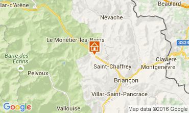 Mapa Serre Chevalier Est�dio 2913