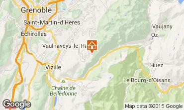 Mapa Chamrousse Apartamentos 29263