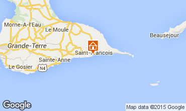 Mapa Saint Francois Apartamentos 85985