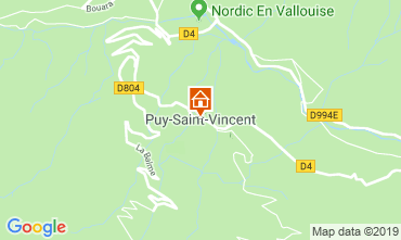 Mapa Puy Saint Vincent Apartamentos 92347