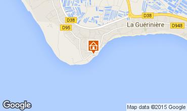 Mapa Noirmoutier en l'Île Casa 7194