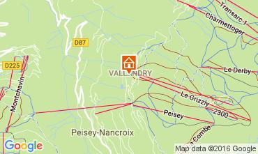 Mapa Peisey-Vallandry Apartamentos 98511