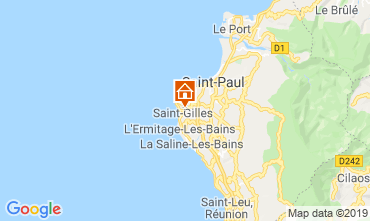Mapa Saint Gilles Casa de turismo rural/Casa de campo 110815
