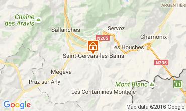 Mapa Saint-Gervais-les-Bains Apartamentos 82224