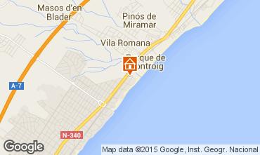 Mapa Miami Playa Apartamentos 75299