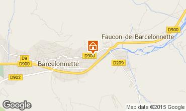 Mapa Barcelonnette Apartamentos 79291