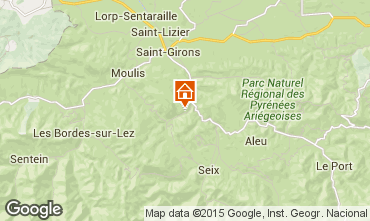 Mapa  Casa de turismo rural/Casa de campo 16144