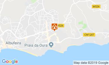 Mapa Albufeira Apartamentos 111569