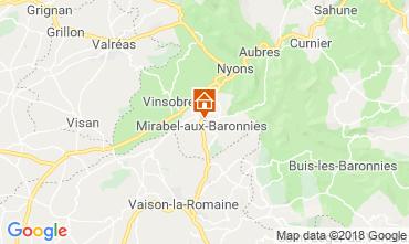Mapa Nyons Vivenda 117379