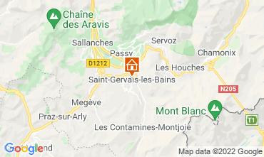 Mapa Saint Gervais Mont-Blanc Apartamentos 66844