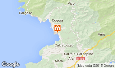 Mapa Ajaccio Estúdio 94021