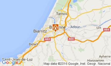 Mapa Biarritz Apartamentos 104317