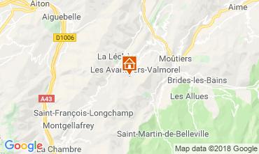 Mapa Valmorel Apartamentos 117140