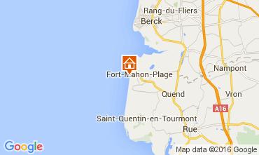 Mapa Fort Mahon Casa 103725