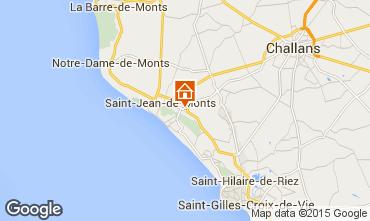 Mapa Saint Jean de Monts Mobil Home 64069