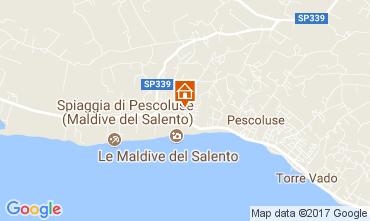 Mapa Pescoluse Apartamentos 109200