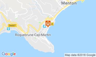 Mapa Menton Apartamentos 117152