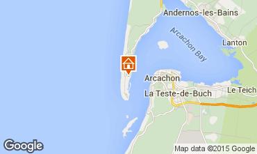 Mapa Cap Ferret Casa 66987