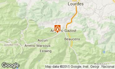 Mapa Val d'Azun Casa de turismo rural/Casa de campo 96908