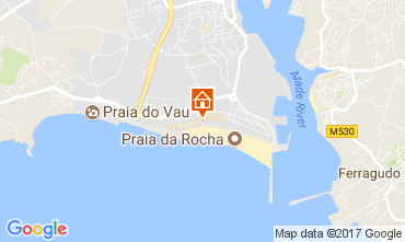 Mapa Praia da Rocha Apartamentos 96534