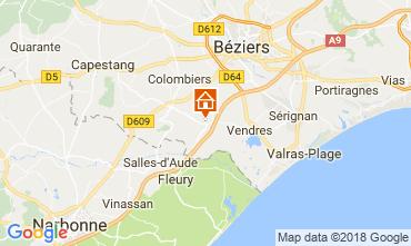 Mapa Cap d'Agde Vivenda 114551