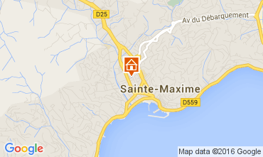 Mapa Sainte Maxime Casa 103814