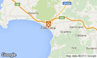 Mapa Follonica Apartamentos 80760