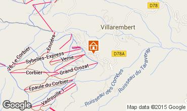 Mapa Le Corbier Apartamentos 999