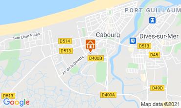 Mapa Cabourg Apartamentos 113080
