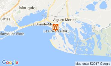 Mapa Le Grau du Roi Apartamentos 108260