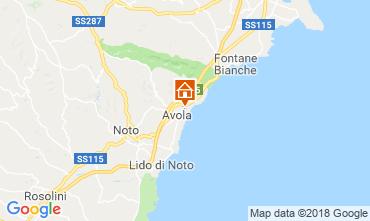 Mapa Avola Vivenda 116015