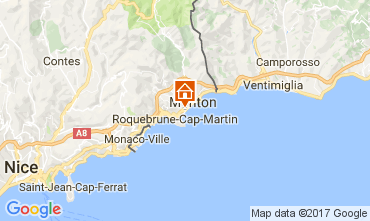 Mapa Roquebrune Cap Martin Apartamentos 107713