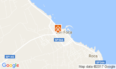 Mapa San Foca Apartamentos 103288