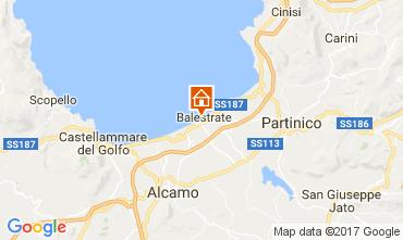 Mapa Balestrate Apartamentos 106370